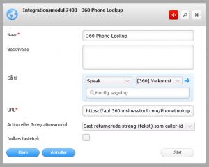 Flexfone setup