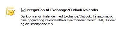 Enable Exchange Sync
